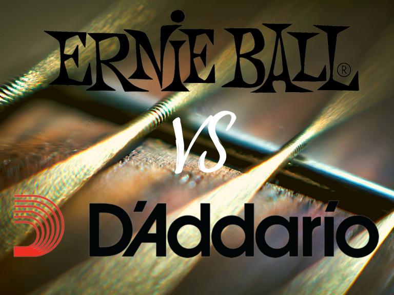 Ernie Ball vs D'Addario