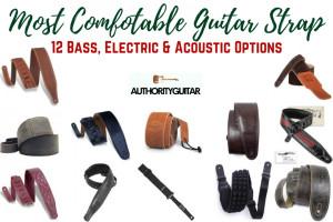 Most Comfortable Guitar Strap